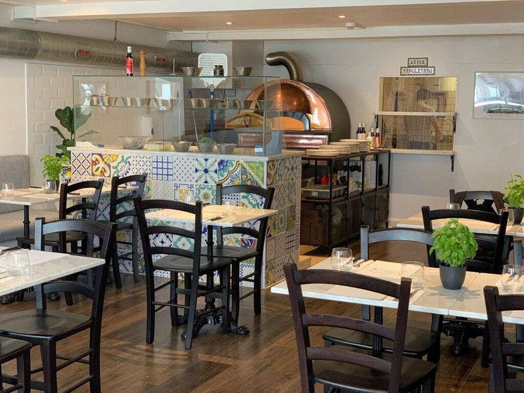 Stile Napoletano Watergate Street Chester Pizzeria