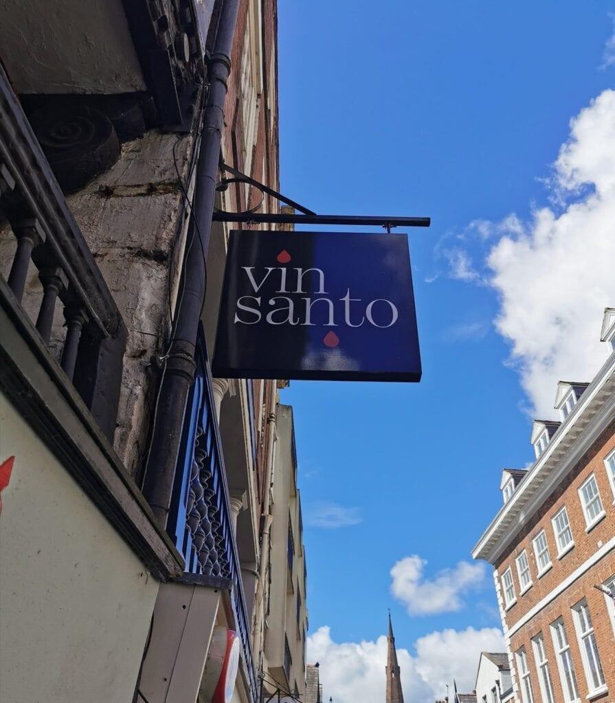 Vin Santo Watergate Street Chester