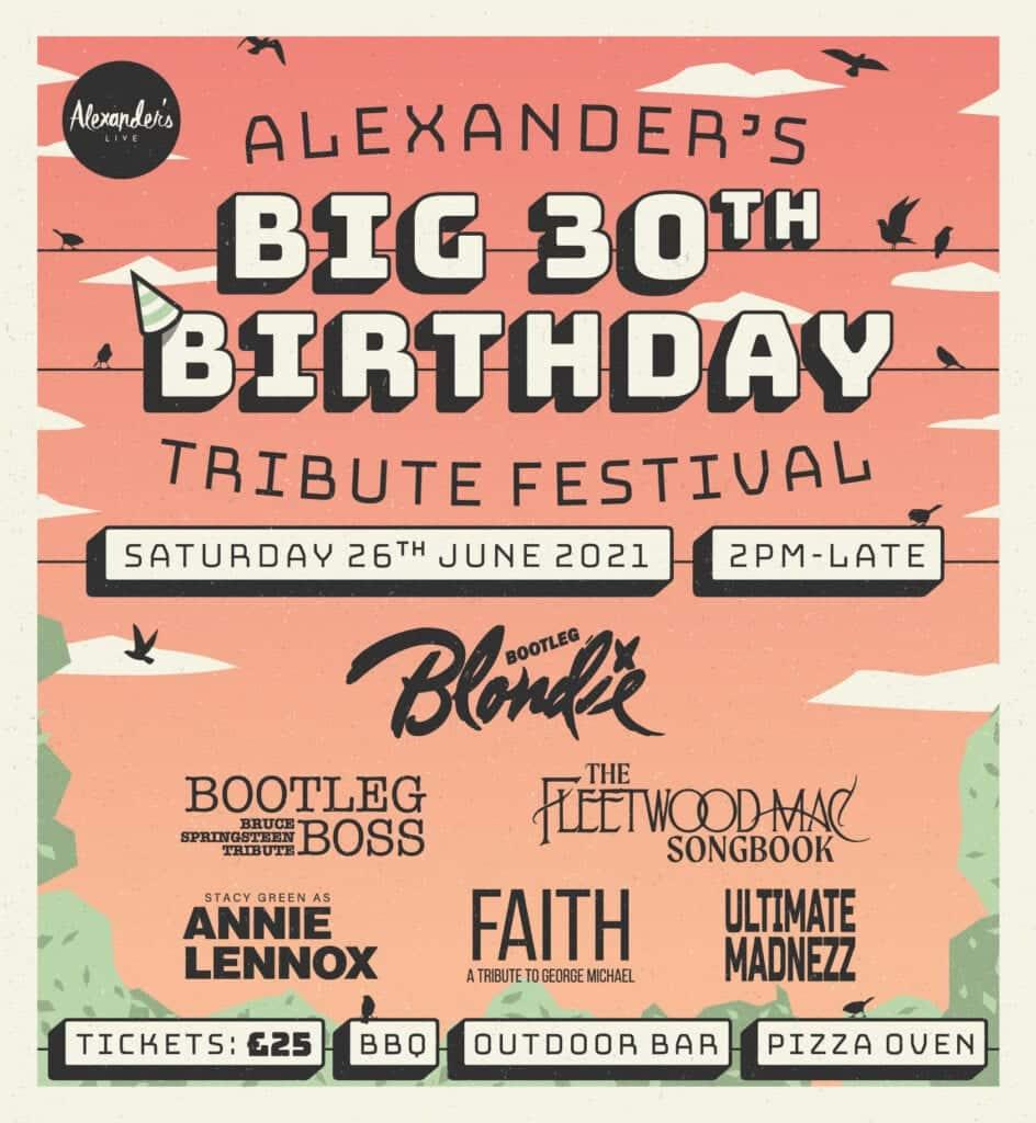 Alexanders Live Big 30 Birthday Bash