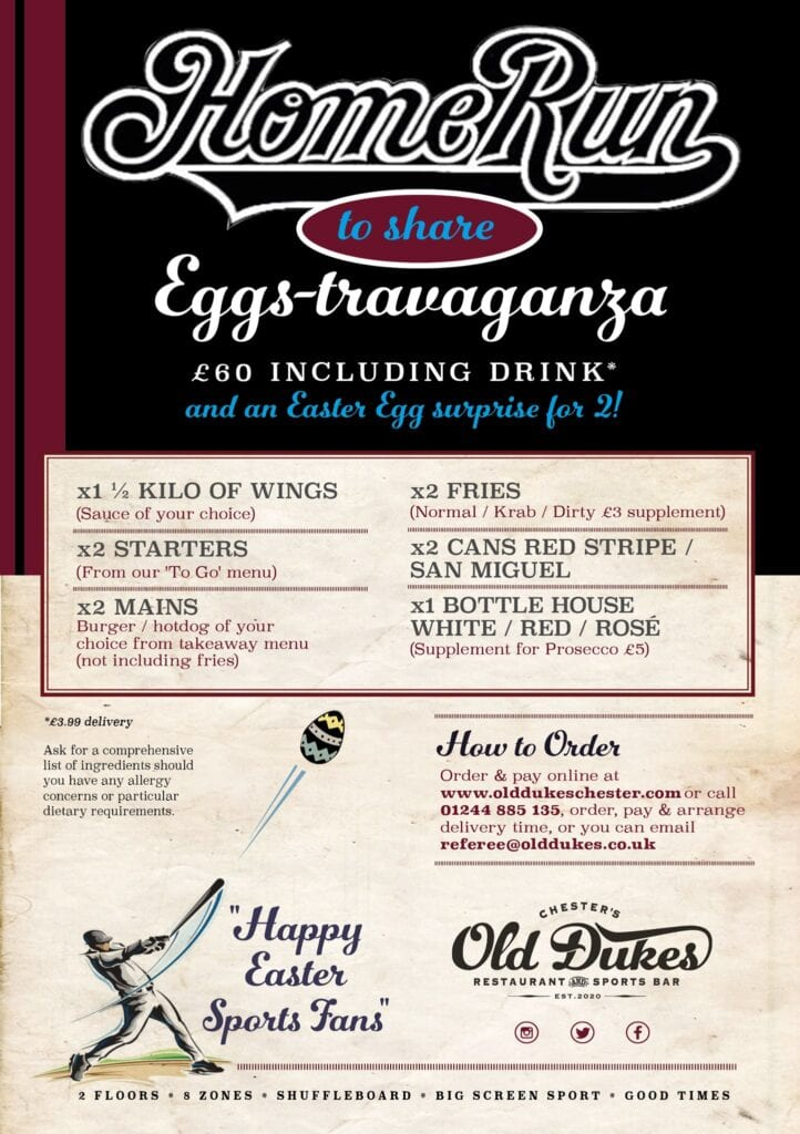 The Old Dukes Easter Eggs Travaganza