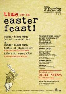 The Suburbs Easter Feast