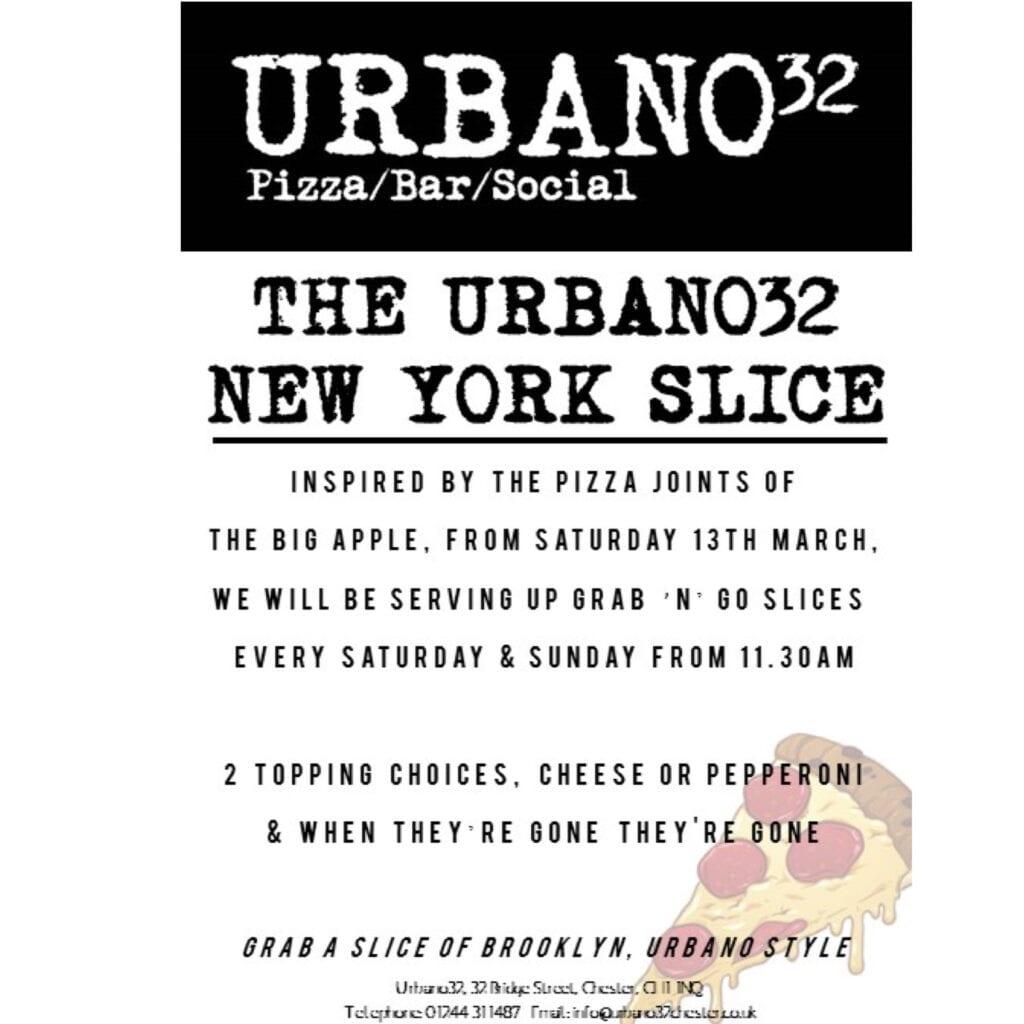 Urbano32 New York Slice