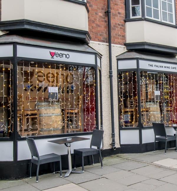 Veeno Bars Chester Outside Dining