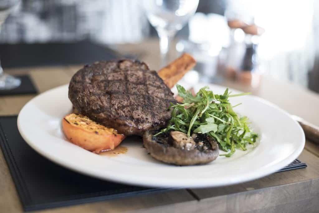 the pied bull chester restaurant steak