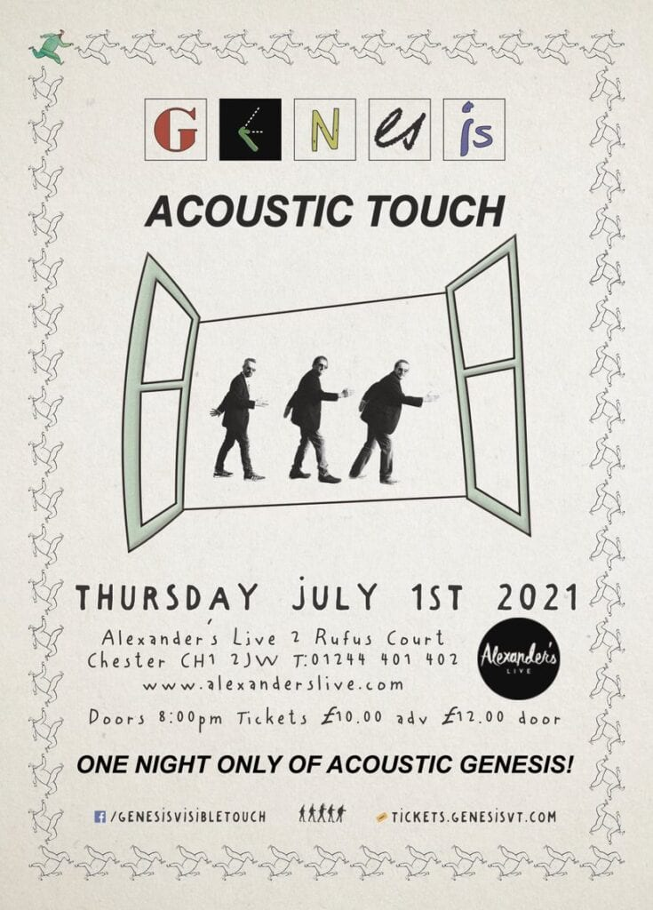 alexanders live genesis visible acoustic touch