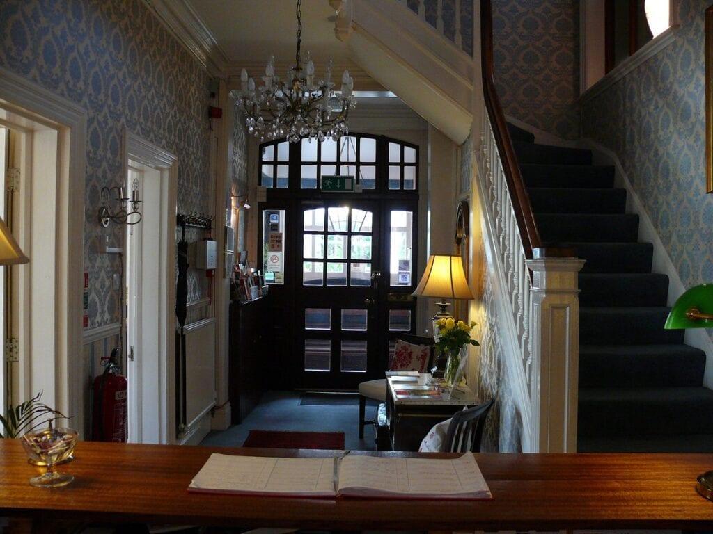 chester court hotel reception