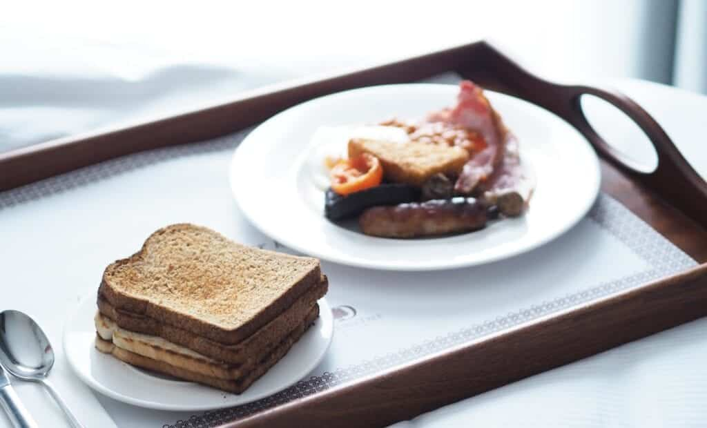 doubletree by hilton chester full english