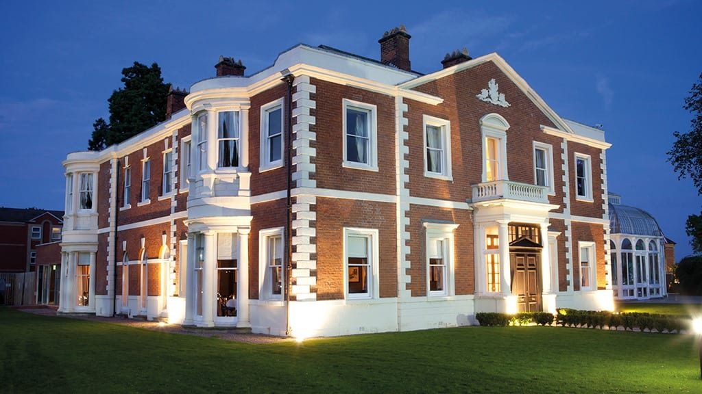 doubletree by hilton chester at night