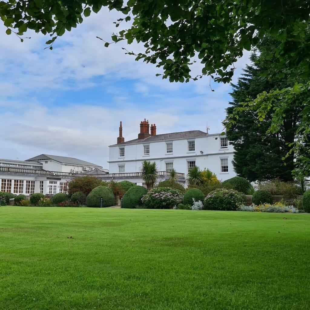 rowton hall hotel spa chester gardens