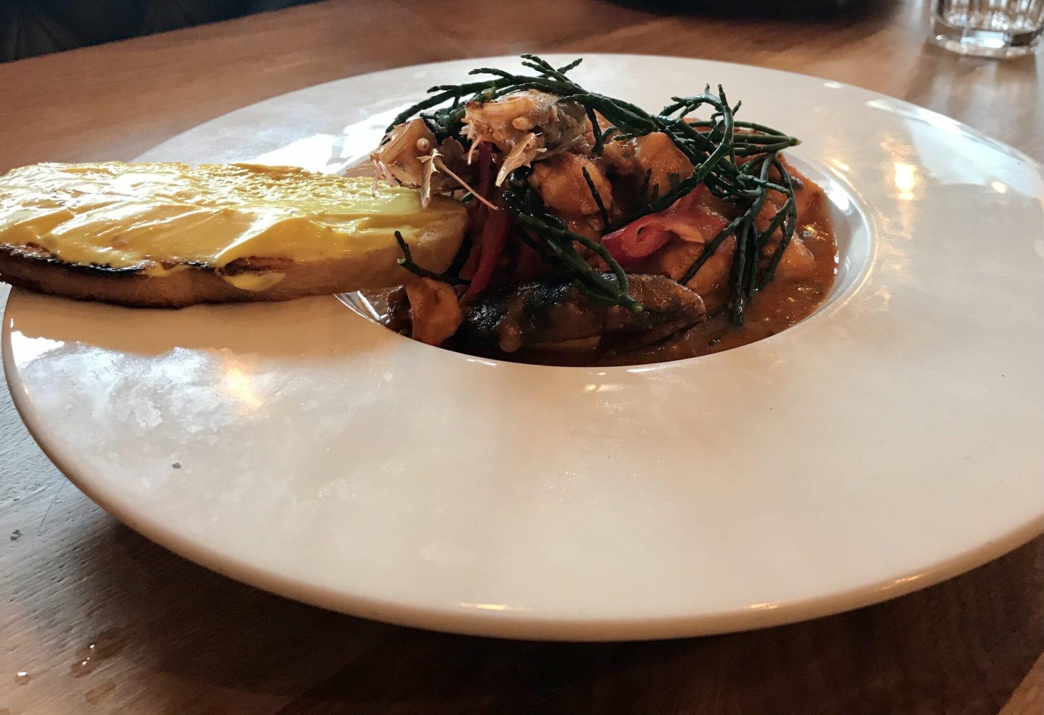 the yard sicilian fish stew saffron roulle