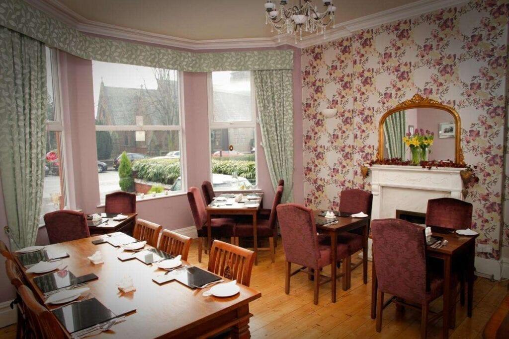 kilmorey lodge hoole road dining room