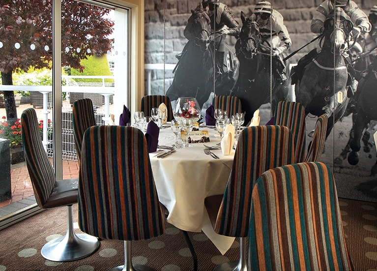 chester racecourse private dining paddock rooms