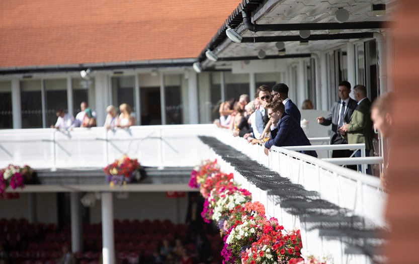 chester racecourse private dining private boxes