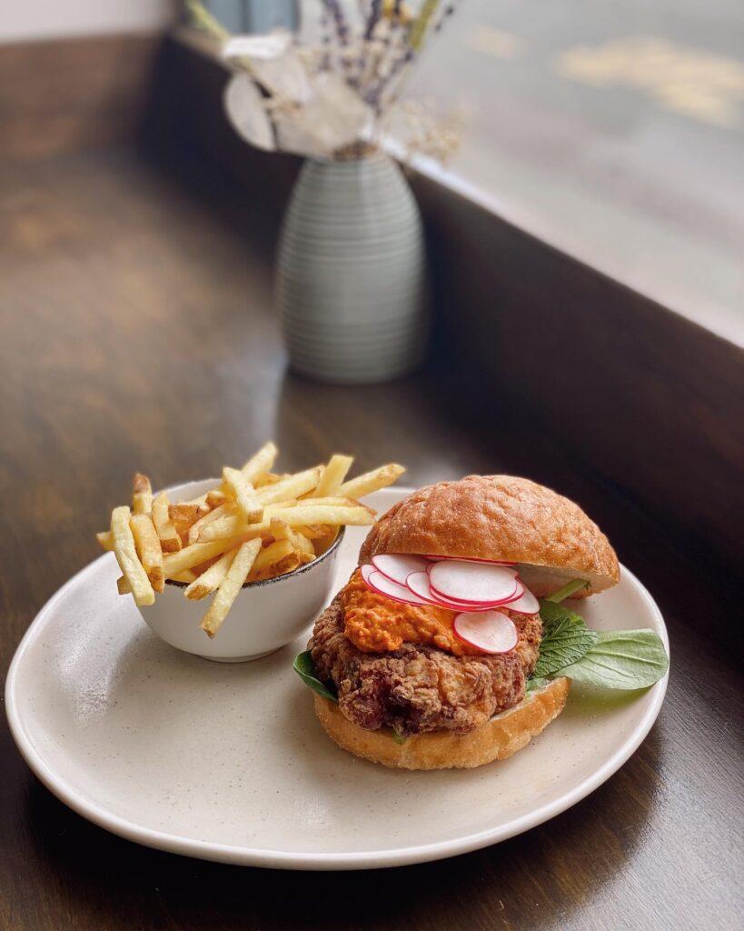 picnic chester veggie burger