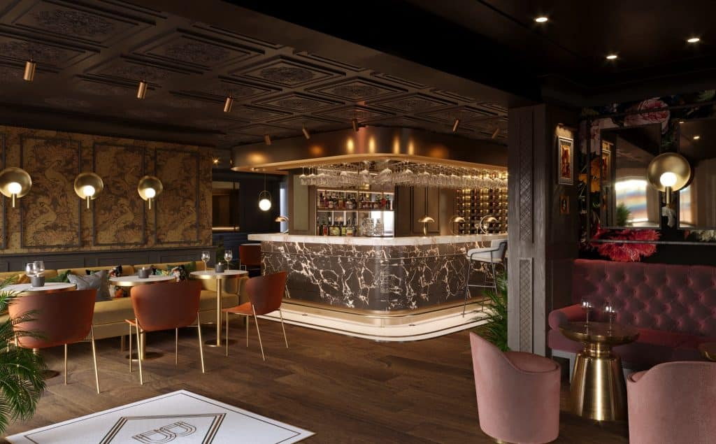 wildes hotel chester bar visual