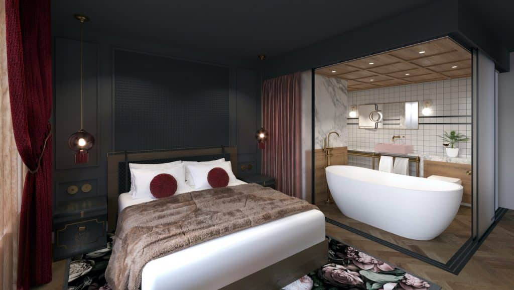 wildes hotel chester bedroom visual